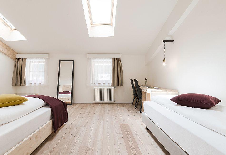 Gasthof Zimmer im Hotel mit authentischen Elementen
