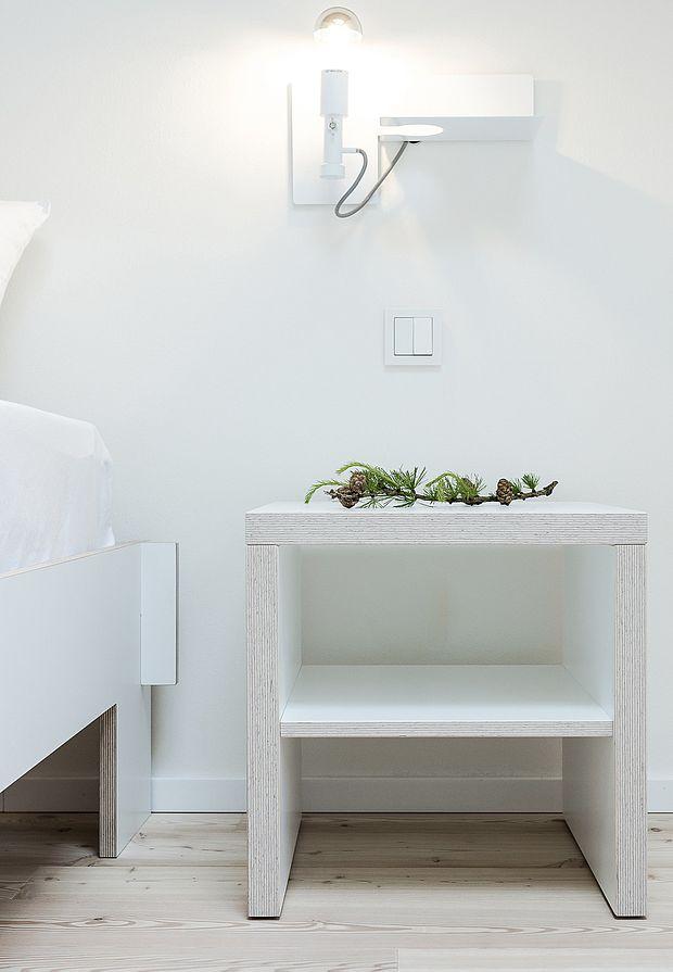 Luc Zimmer - geräumige Zimmer mit minimalistischem Möbeldesign