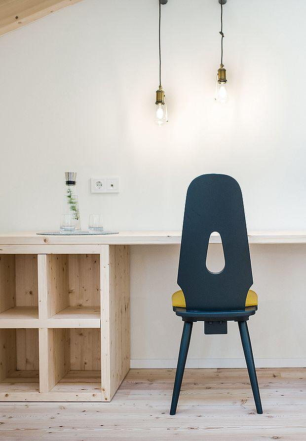 Design Hotel Einrichtung in raffinierter Schlichtheit