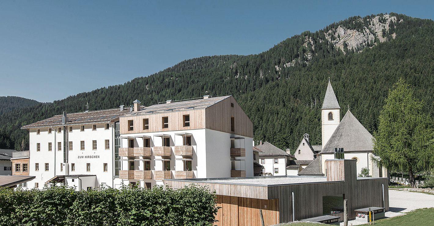 Ansicht Hotel Zum Hirschen in Unsere Liebe Frau im Walde