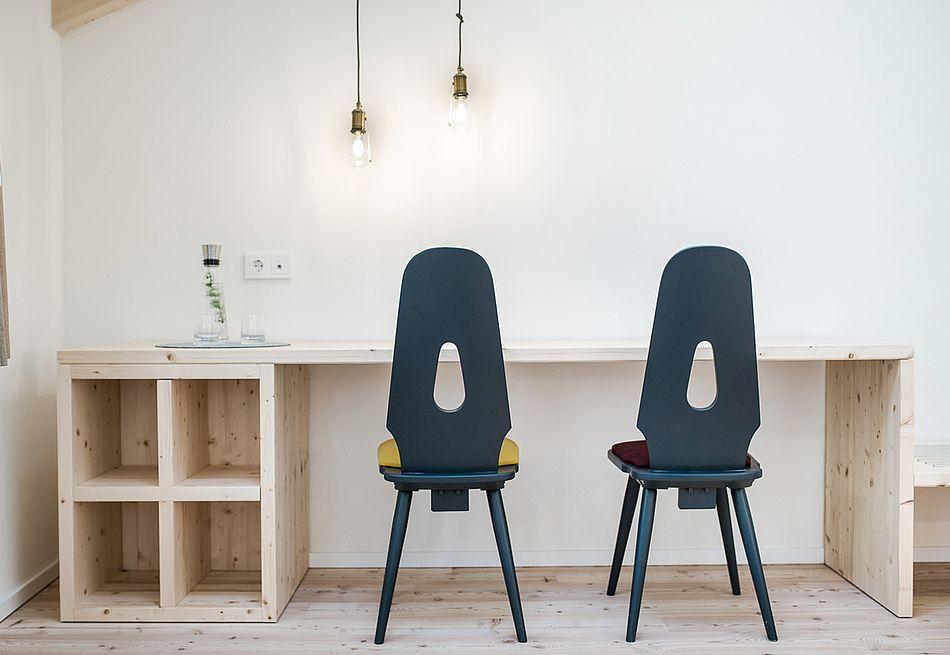 Gasthof Zimmer in Lärchen- und Fichtenholz