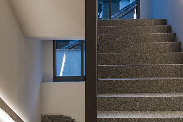 schlichte Architektur des Hotels Gasthof Zum Hirschen