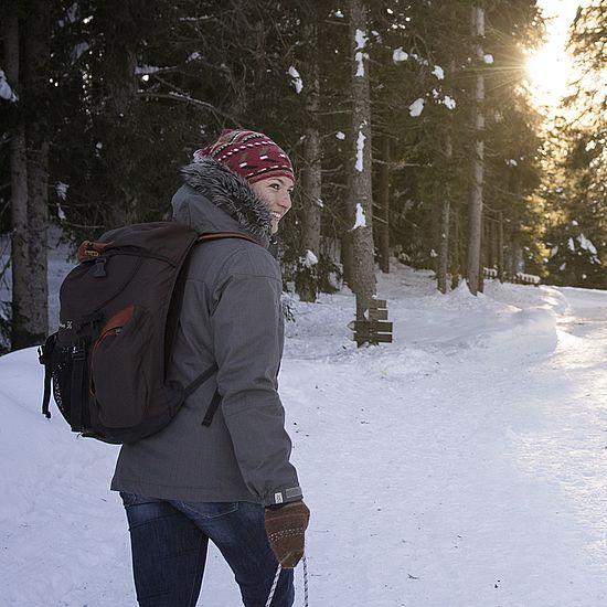 Angebot Schneeschuhwandern, Rodeln & Co. im verschneiten Winterwald
